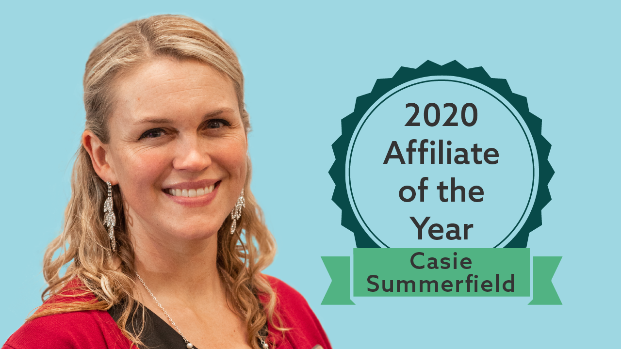 2020 Affiliate of the Year feature image