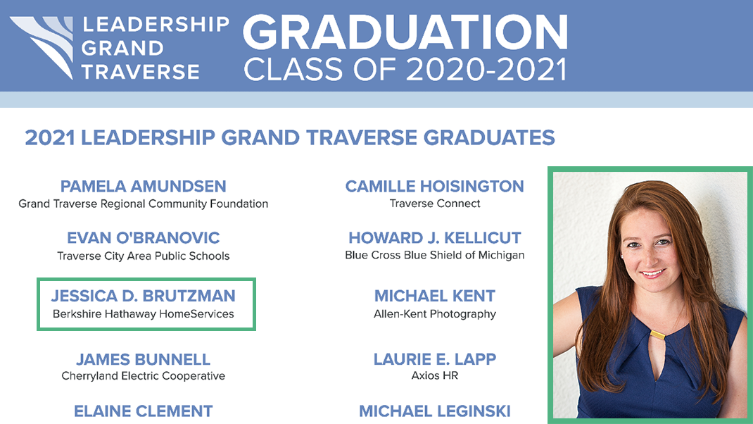 Congratulations Jessica Brutzman | Graduate of Leadership Grand Traverse feature image