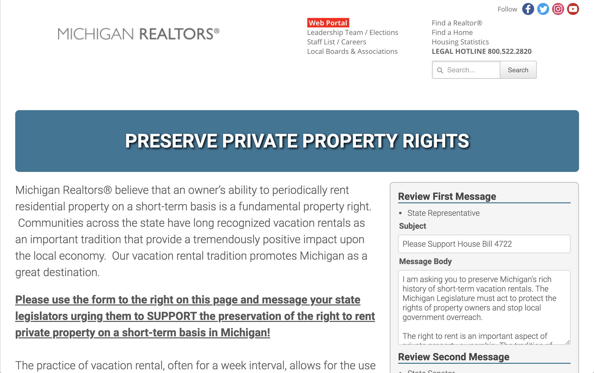 Call for Action | Protect Private Property Rights feature image